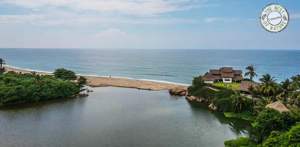 Ecolodge Colombian coast